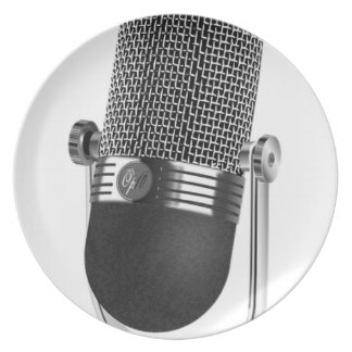 Classic Microphone Plate