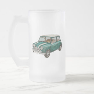 Classic Mini Frosted Glass Beer Mug