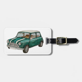 Classic Mini Luggage Tag