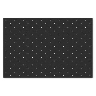 Classic Mini White Polka Dots Pattern Tissue Paper