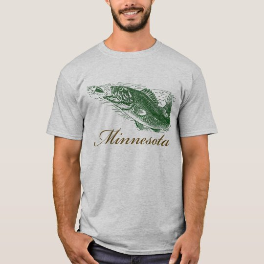 Classic Minnesota Fish Fishing Traveller T-Shirt
