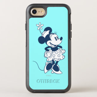 Classic Minnie | Blue Hue OtterBox Symmetry iPhone 7 Case