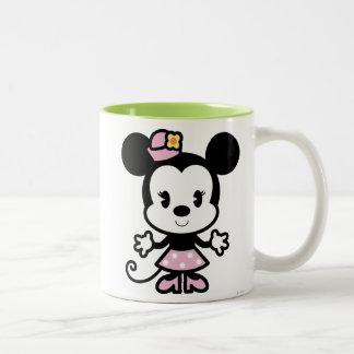 Classic Minnie   Cartoon Two-Tone Coffee Mug