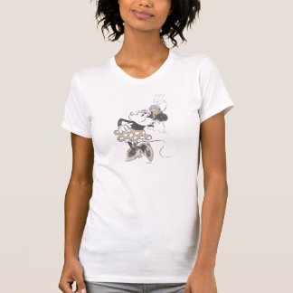 Classic Minnie   Distressed T-Shirt