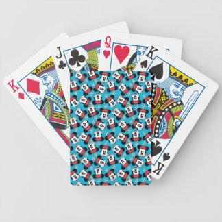 Classic Minnie | Flower Face Poker Deck