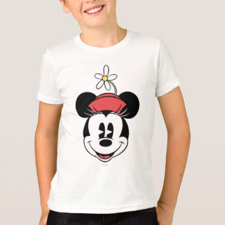 Classic Minnie | Flower Face T-Shirt
