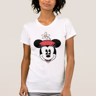 Classic Minnie | Flower Face T Shirts