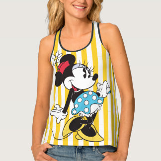 Classic Minnie | Flower Tank Top