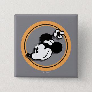 Classic Minnie Mouse 2 Inch Square Button