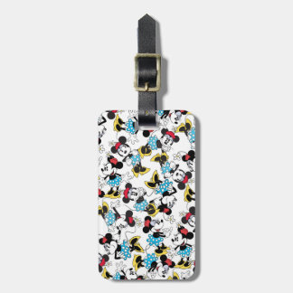 Classic Minnie Mouse 4 2 Luggage Tag