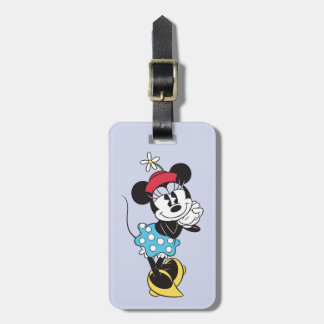 Classic Minnie Mouse 4 Bag Tag