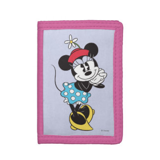 Classic Minnie Mouse 4 Tri-fold Wallets