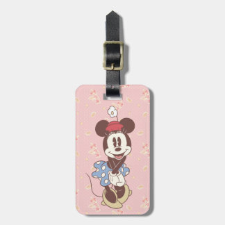 Classic Minnie Mouse 7 Luggage Tag