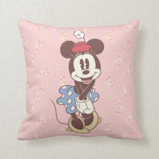 Classic Minnie Mouse 7 Throw Pillow