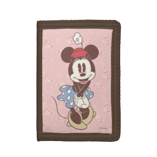 Classic Minnie Mouse 7 Tri-fold Wallet