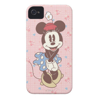 Classic Minnie Mouse Vintage iPhone 4 Case-Mate Case