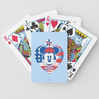 Classic Minnie | Patriotic Poker Deck