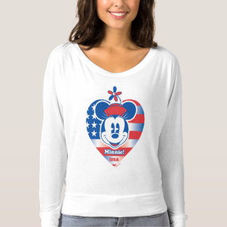 Classic Minnie | Patriotic T-shirt