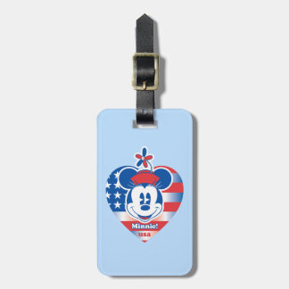 Classic Minnie | Patriotic Tags For Bags
