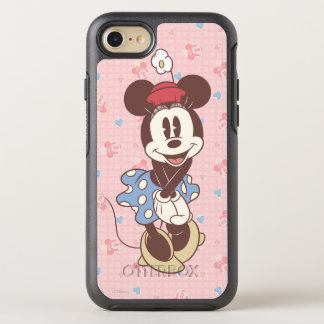 Classic Minnie | Sepia OtterBox Symmetry iPhone 7 Case
