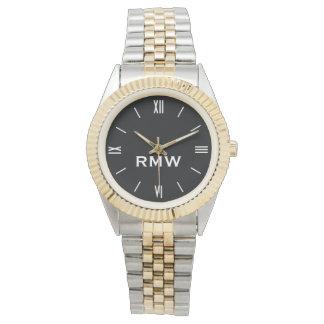 Classic Monogrammed Men's Watch