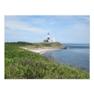 classic montauk lighthouse picture photo print