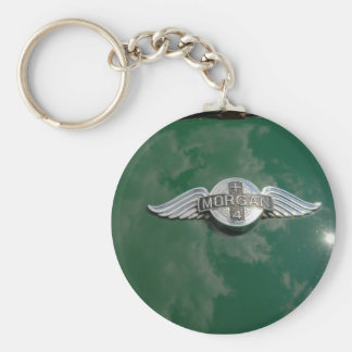 Classic Morgan Sports Car Keychain
