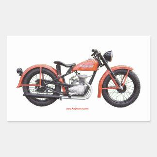 Classic Motorbike 125 HD_Texturized Sticker