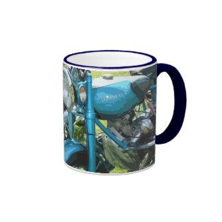 CLASSIC MOTORCYCLE 12 (mug) Ringer Mug