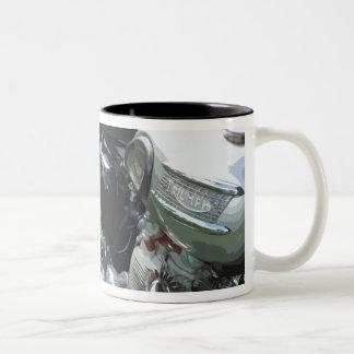 CLASSIC MOTORCYCLE 7 (mug) Two-Tone Mug