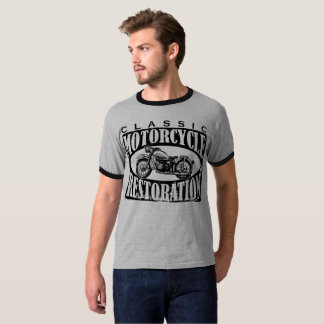 Classic Motorcycle Restoration T-Shirt