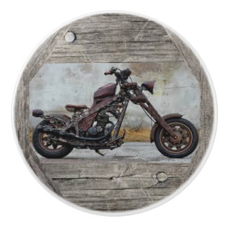 Classic Motorcycles Ceramic Cabinent Knobs