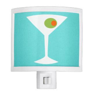 Classic Movie Martini Night Light (Turquoise)