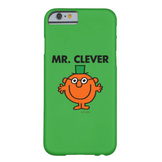 Classic Mr. Clever Logo Barely There iPhone 6 Case