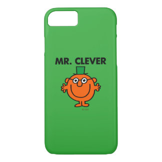 Classic Mr. Clever Logo iPhone 7 Case
