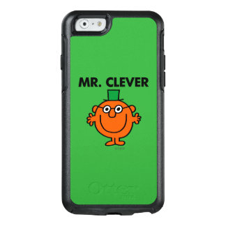 Classic Mr. Clever Logo OtterBox iPhone 6/6s Case