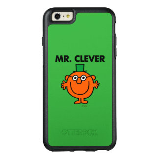 Classic Mr. Clever Logo OtterBox iPhone 6/6s Plus Case
