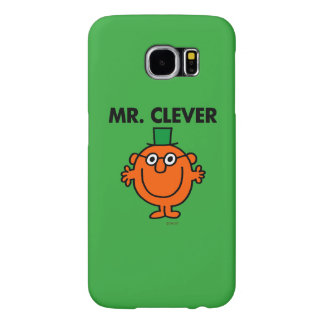 Classic Mr. Clever Logo Samsung Galaxy S6 Cases