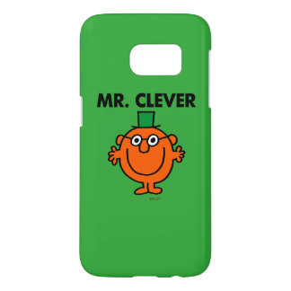 Classic Mr. Clever Logo Samsung Galaxy S7 Case