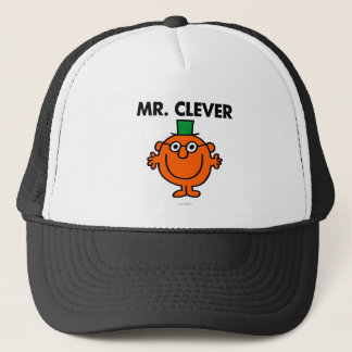 Classic Mr. Clever Logo Trucker Hat