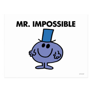 Classic Mr. Impossible Postcard