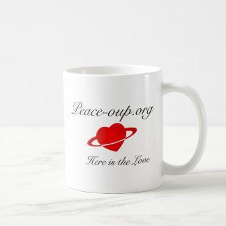 Classic Mug - 11oz - w/ Peace-oup.org (Heart Logo)