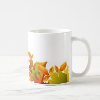 classic mug, white, custom, Halloween, border Coffee Mug