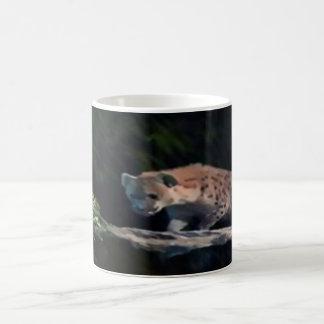 classic mug, white, custom, image, tiger coffee mug
