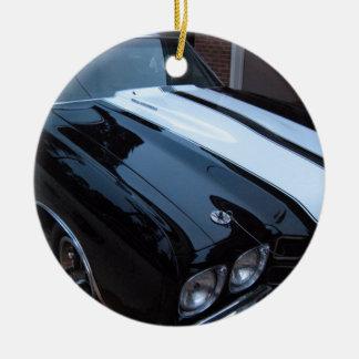 Classic Muscle Car Ceramic Ornament