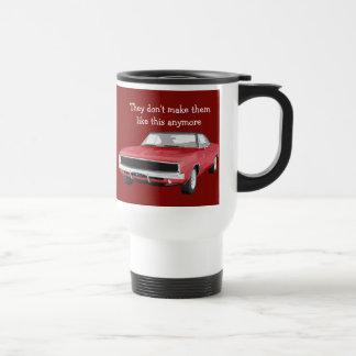 Classic Muscle Car Design Travel Mug