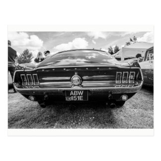 """""""Classic Mustang"""" postcards"""