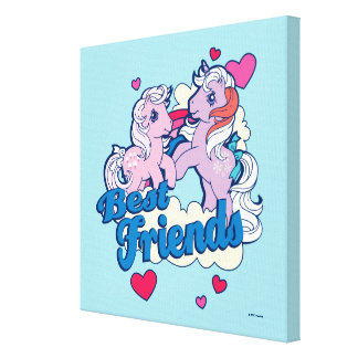 Classic My Little Ponies | Best Friends Canvas Print