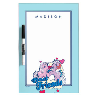 Classic My Little Ponies | Best Friends Dry Erase Board