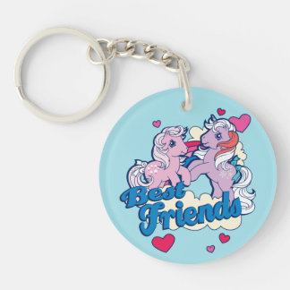 Classic My Little Ponies | Best Friends Keychain